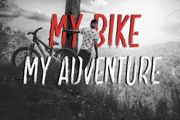 Slim Bike Font