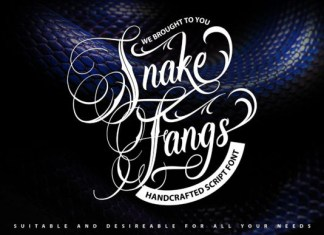 SnakeFangs Font
