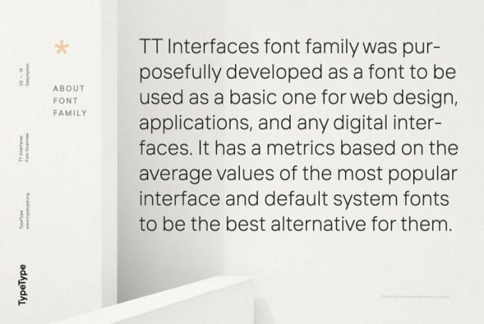 TT Interfaces Font