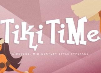 Tiki Time Font