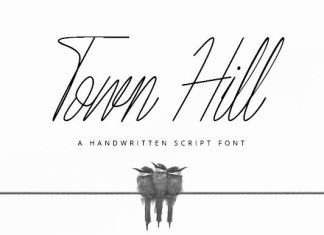 Town Hill Font