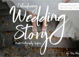 Wedding Story Font