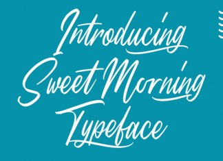 Sweet Morning Font