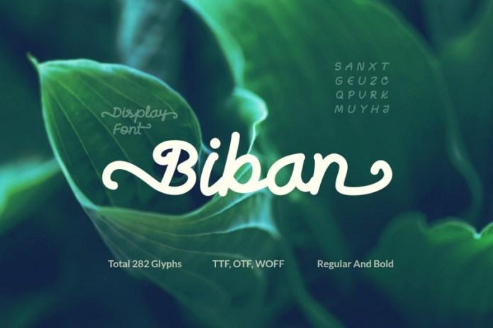 Biban Font