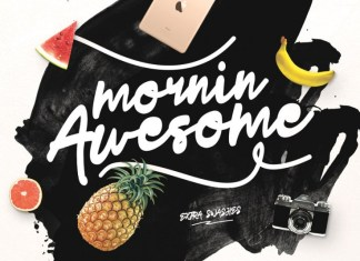 Mornin Awesome Font