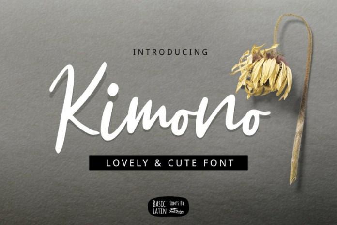 Kimono Font