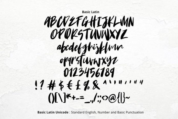 Krakatoa Font