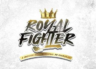 Royal Fighter Font