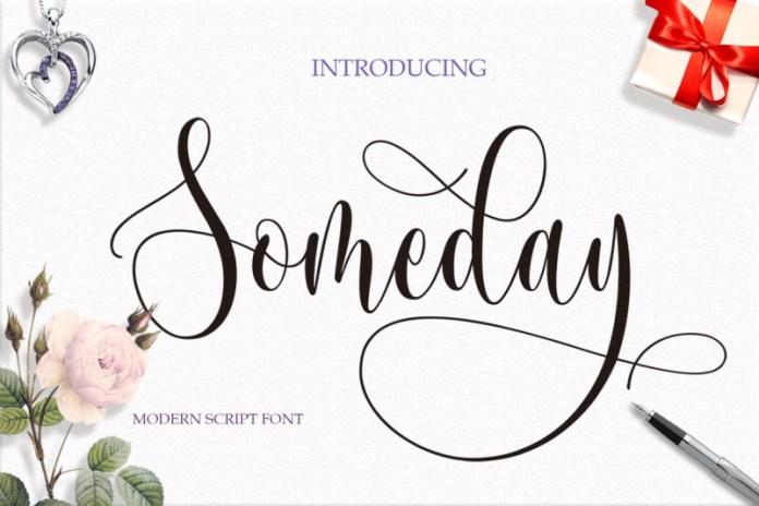 Someday Font