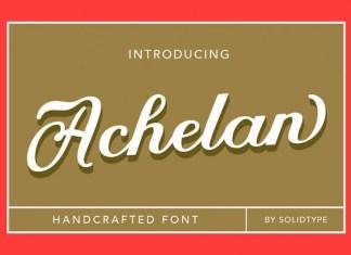 Achelan Font