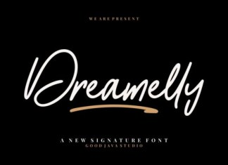Dreamelly Font