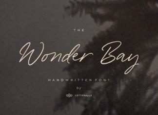 Wonder Bay Font