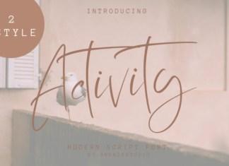 Activity Font