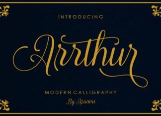 Arrthur Font