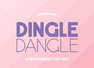 Dingle Dangle Font