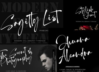Sagitty List Font