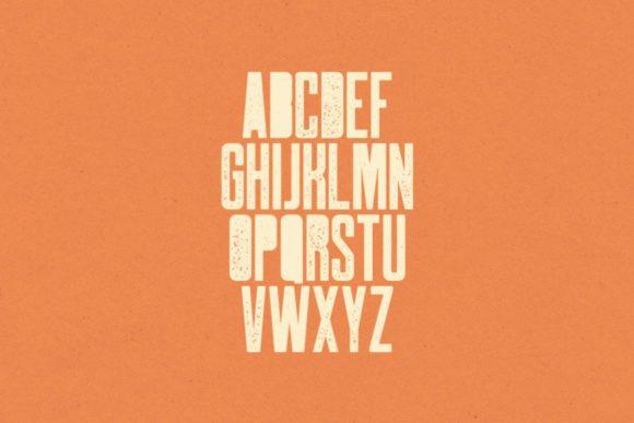 Robinson Urban Rough Font