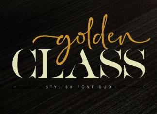 Golden Class Font
