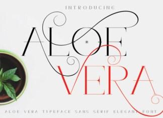 Aloe Vera Font