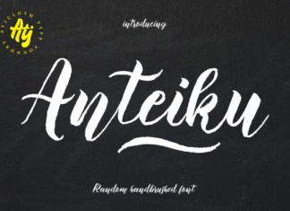 Anteiku Font
