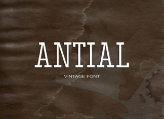 Antial Font