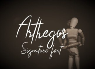 Arthegos Font