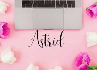 Astrid Font