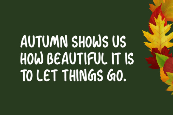 Autumn Season Font