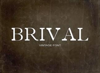 Brival Font