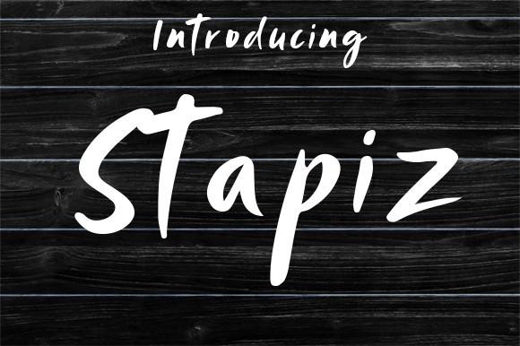 Stapiz Font