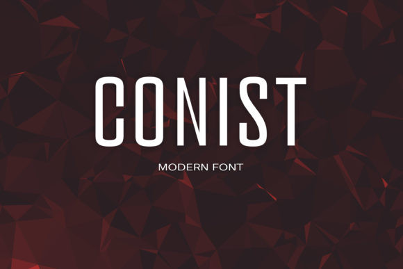 Conist Font