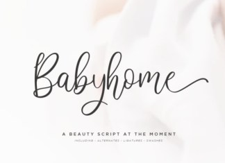 Babyhome Font