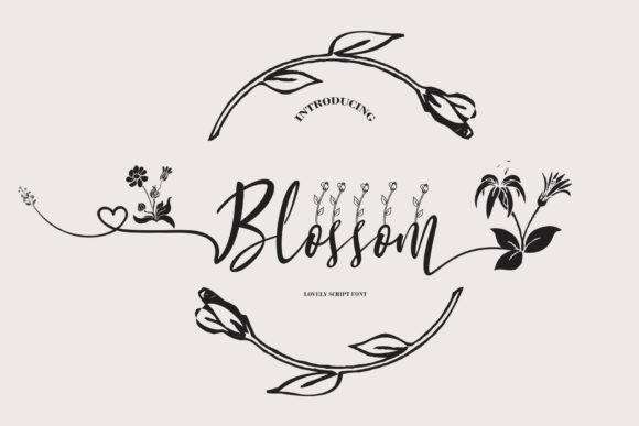 Blossom Font