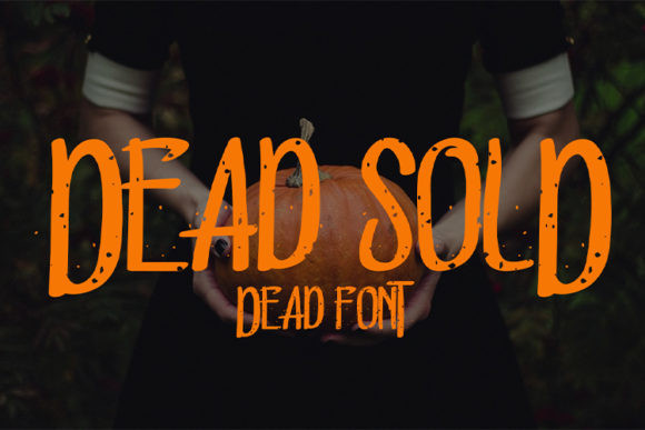 Dead Sold Font
