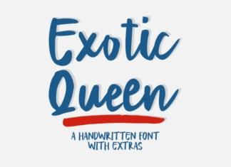 Exotic Queen Font