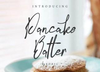 Pancake Batter Font