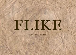 Flike Font