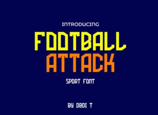 Football Attack Font