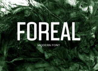 Foreal Font