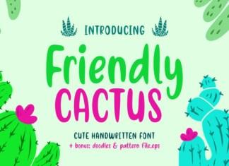 Friendly Cactus Font