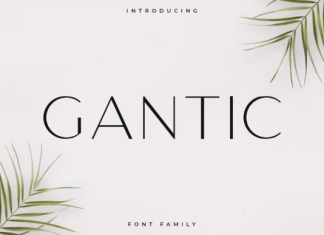 Gantic Font