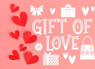 Gift of Love Font