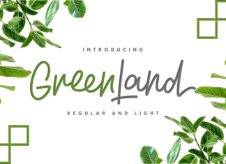 Greenland Duo Font