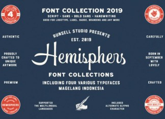 Hemishpers Font