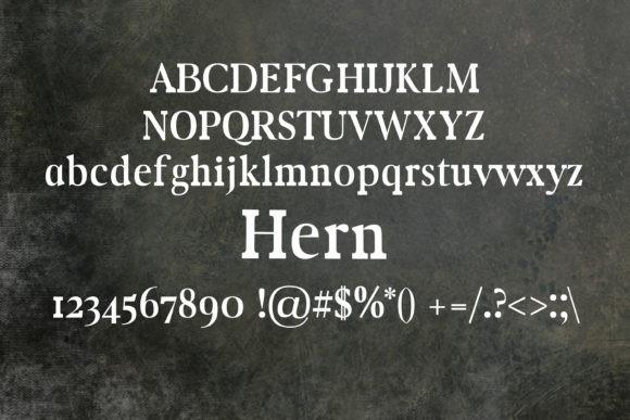 Hern Font
