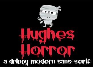Hughes Horror Font