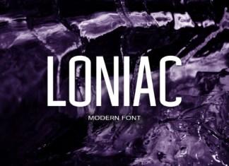 Loniac Font