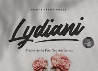 Lydiani Duo Font