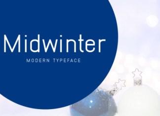 Midwinter Font