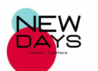 New Days Font